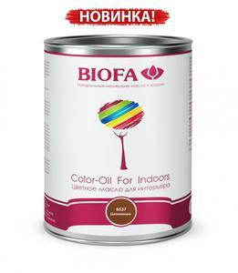 Biofa 8521-05 Color-Oil For Indoors. Циннамон. Цветное масло для интерьера