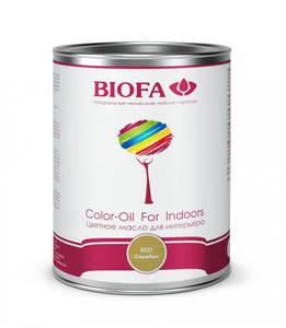 Biofa 8521-01 Color-Oil For Indoors. Серебро. Цветное масло для интерьера