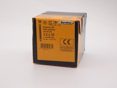 Саморез для пола и паркета EuroTec 3,2х35, (500 шт)