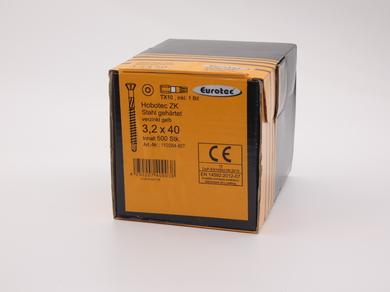 Саморез для пола и паркета EuroTec 3,2х40, (500 шт)