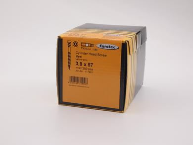 Саморез для дерева EuroTec 3,9х57, c противорезьбой, (250 шт)