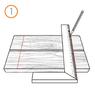 Крепеж для террасной доски RanFix POWER 145мм. со стопором (усиленный)