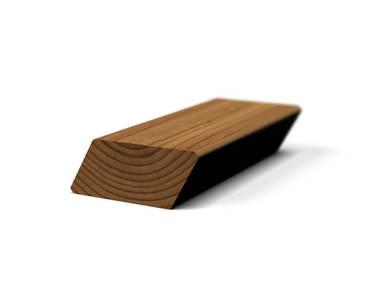 Брусок скошенный из термососны 26x68 SR