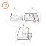 Крепеж для террасной доски RanFix DUO 80мм. со стопором (усиленный)
