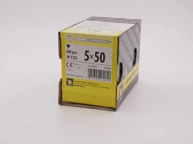 Саморез для дерева Rusconnect 5х50, потайная головка, (200 шт)