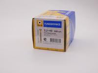 Саморез для пола и паркета Rusconnect 3,2х40, (500 шт)