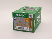 Саморезы для пола, паркета, шпунтованной доски, Spax 3,5х35, (500 шт)