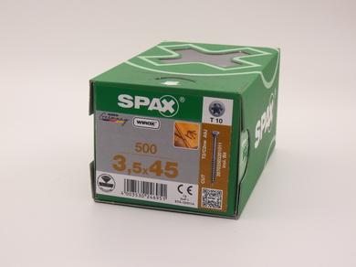 Саморезы для пола, паркета, шпунтованной доски, Spax 3,5х45, (500 шт)