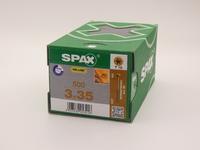 Саморезы для пола, паркета, шпунтованной доски, Spax 3х35, (500 шт)
