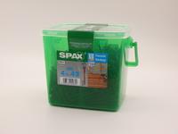Саморезы для фасада Spax 4,5х43, двойная резьба, линзовая головка, (500 шт), антик