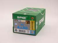 Саморезы для фасада Spax 4,5х50, двойная резьба, линзовая головка, (200 шт), антик