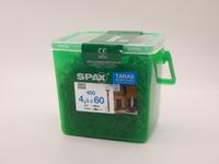 Саморезы для фасада Spax 4,5х60, двойная резьба, линзовая головка (400 шт)