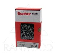Шуруп для фасада Fischer FFSII-RT6 4,5х50, (300 шт)
