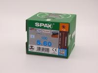 Саморезы для террасной доски Spax 5х60, цилиндрическая головка, (100 шт), антик