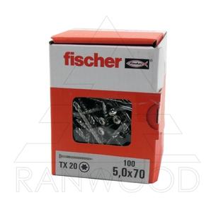 Шуруп для террас Fischer FTS-ST A2P 5,0х70, (100 шт)