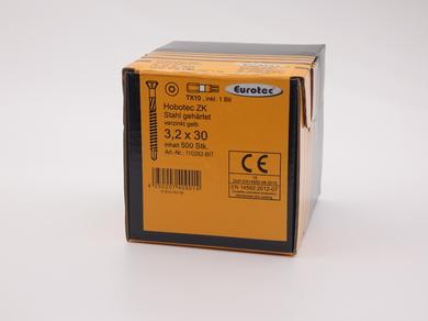 Саморез для пола и паркета EuroTec 3,2х30, (500 шт)