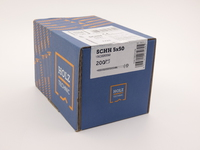 Саморез Rothoblaas для деревянных конструкций с конической головкой SCHH 5х50 (200 шт.)