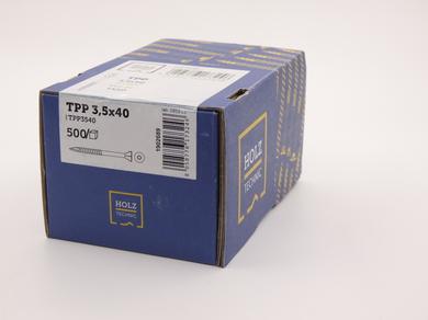 Саморез Rothoblaas для террасной доски с конической потайной головкой TPP 3,5х40 (500 шт.)