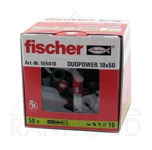 Дюбель Fischer Duopower 10x50 (50 шт)