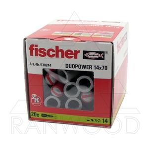 Дюбель Fischer Duopower 14x70 (20 шт)
