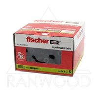 Дюбель Fischer Duopower 6х50 (100 шт)