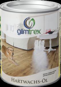 Масло Glimtrex с твердым воском прозрачное глянцевое