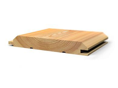 Имитация бруса из лиственницы, 20x140 мм., длина от 2,0 м. до 6,0 м.