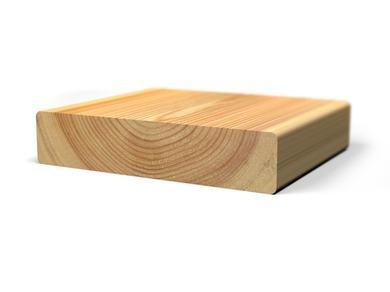 Палубная доска из лиственницы, 25x110 мм., длина от 2,0 м. до 6,0 м.