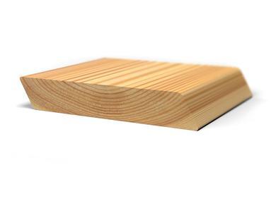 Скошенный планкен из лиственницы, 20x160 мм., длина от 2,0 м. до 6,0 м.
